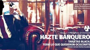 Cartel de la obra de teatro Hazte banquero.