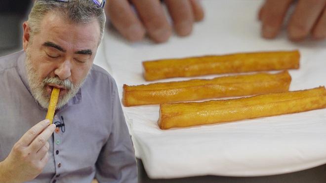 Cata Mayor: Marc Gascons nos cocina unas patatas bravas hojaldradas.