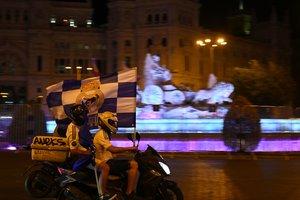 La prudencia por el coronavirus reduce el festejo del Madrid
