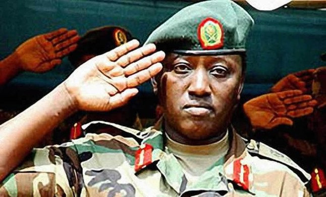 El militar ruandés Karenzi karake acusado de genocidio.