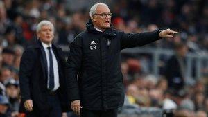 Claudio Ranieri, en su debut como técnico del Fulham.