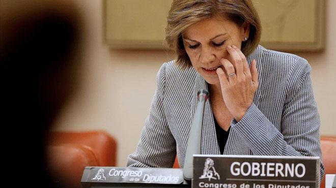 Cospedal admite la responsabilidad ypide perdón en nombre del Estado por el Yak-42.
