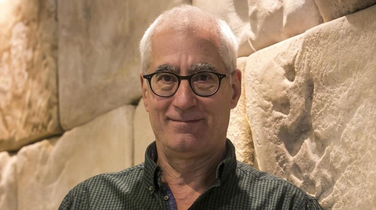 David Cirici, ganador del Premio Sant Jordi de novela.