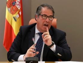 GRAF570. MADRID (ESPAÑA), 03/01/2018.- El director general de Tráfico, Gregorio Serrano, durante la rueda de prensa de presentación sobre el balance de accidentes de tráfico en 2017. EFE/JJ GUILLÉN