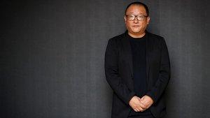El director chino Wang Xiaoshuai, fotografiado en San Sebastián