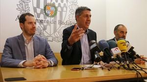 Garcia Albiol amenaça de no donar suport a la moció del PSC a Badalona