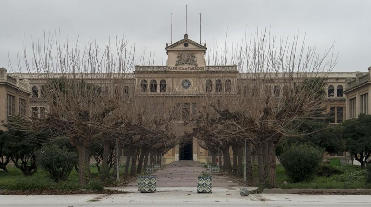 Edificio de la Tabacalera de Tarragona.