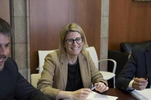 La coordinadora de la conferencia ideológica del PDECat,Elsa Artadi.
