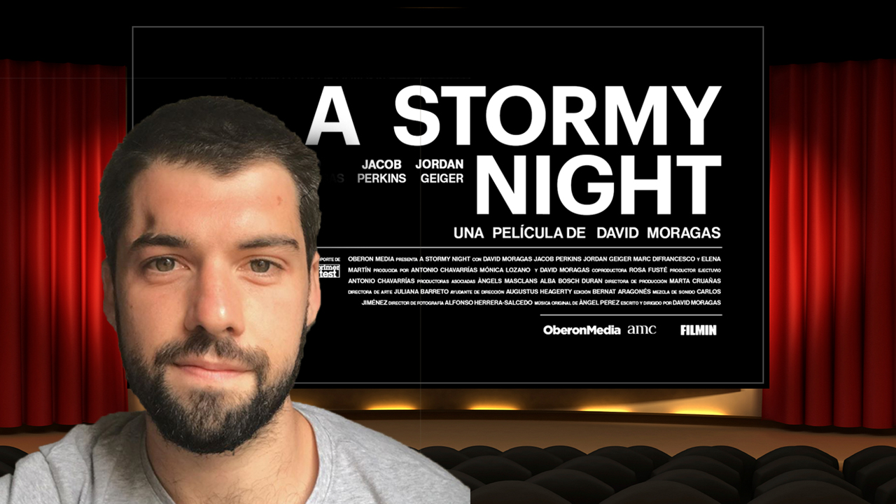 Entrevista con David Moragas, director de 'A stormy night'