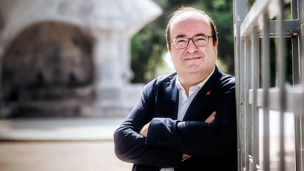 """Miquel Iceta: """"Quienes buscan rédito del enfrentamiento juegan con fuego"""""""