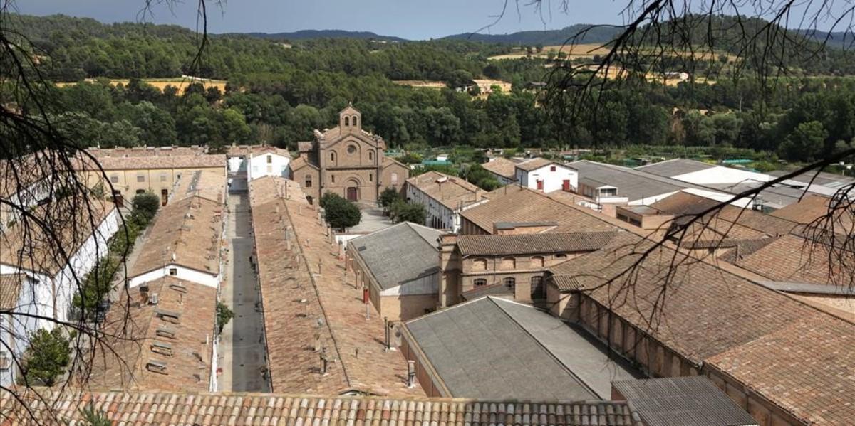 Antigua colonia textil de L'Ametlla de Merola, en el Berguedà.