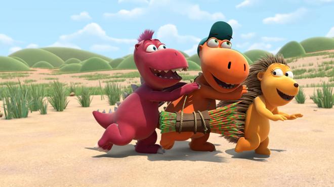 'Coco, el pequeño dragón': animación naíf