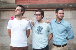 Marc Vilà, Guillem Mora y Cristian Cuesta, socios en el proyecto Festival lEra.