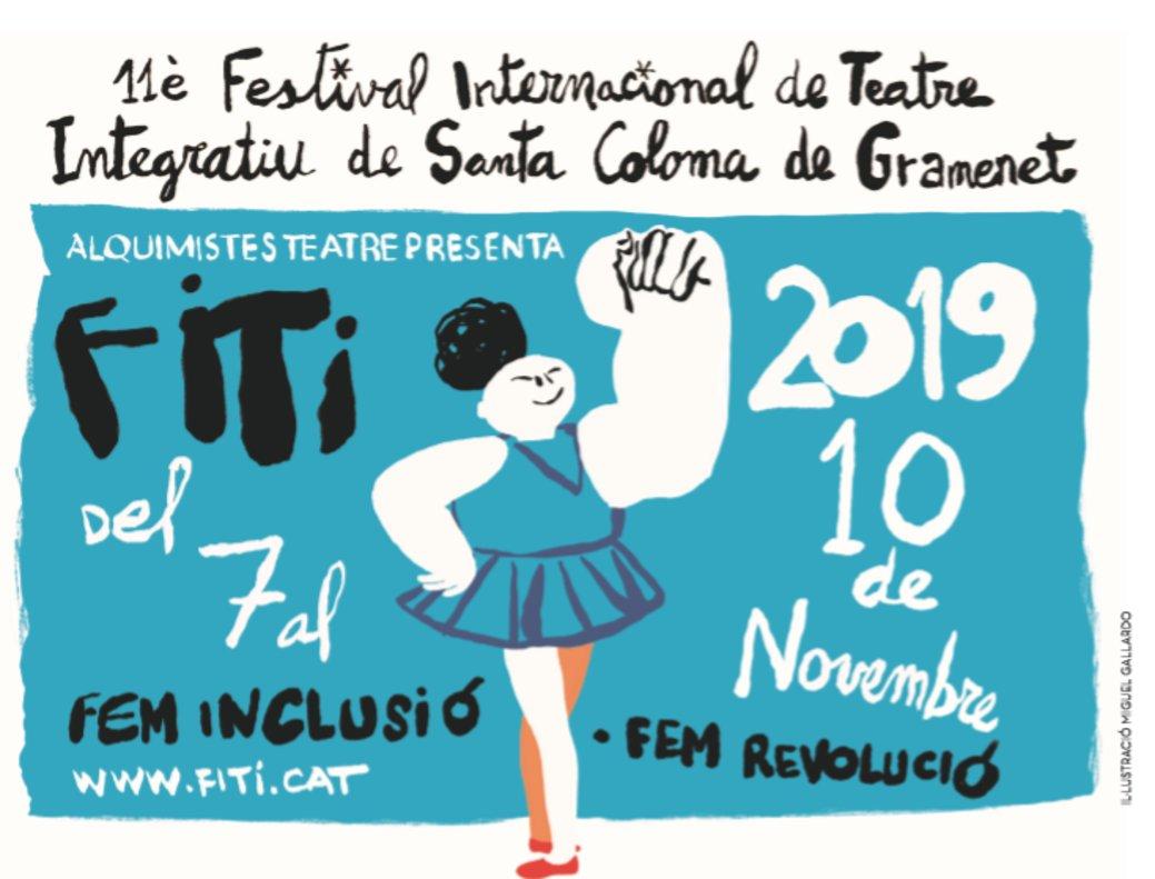 Cartel de la edición del FITI de este 2019.