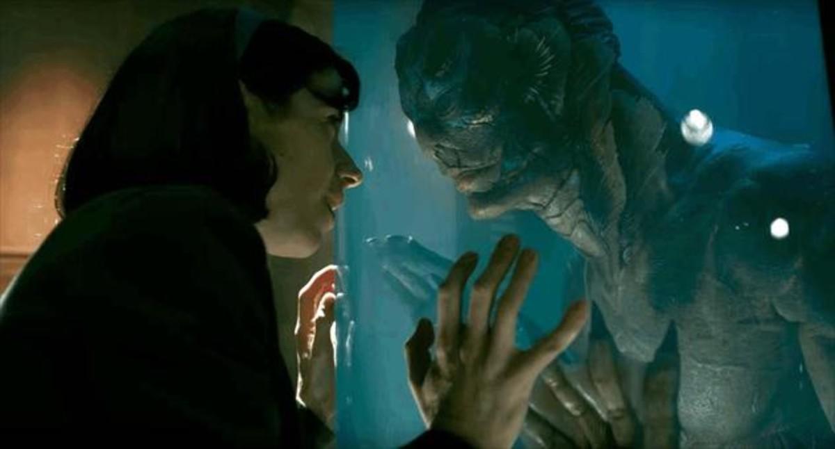 La forma del agua, de Guillermo del Toro