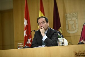 El delegado de Medio Ambiente y Movilidad de Madrid, Borja Carabante, en una imagen de archivo.