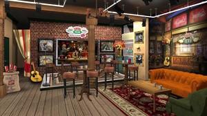 Reconstrucción en Nueva York de 'Central Perk', el mítico bar de la serie 'Friends'.