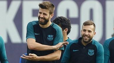 """Piqué: """"Con ser igual que el Madrid, no vale"""""""
