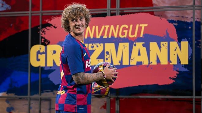 Griezmann ya viste la camiseta del Barça.