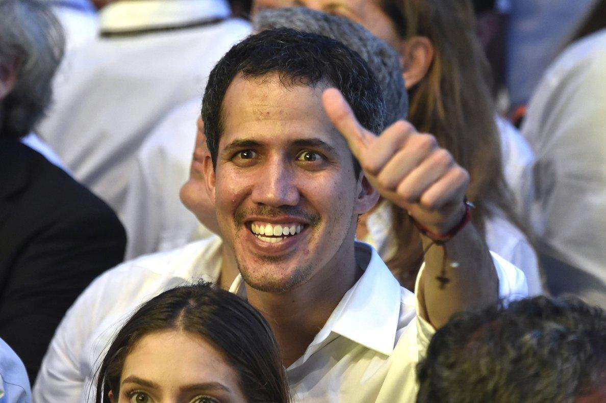 Guaidó llegó a Cúcuta, Colombia, para el Venezuela Aid Live.