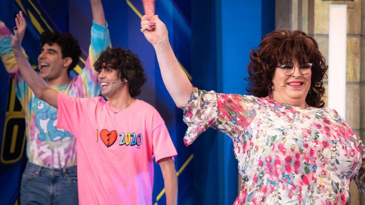 """Los Javis en 'El hormiguero': """"La comunidad LGTBI necesita referentes en el cine y la televisión"""""""