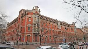 El Hospital Santa Cristina de Madrid.