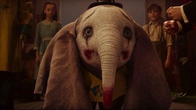 Imágenes del nuevo y emotivo tráiler de Dumbo, de Tim Burton.