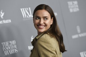 Model Irina Shayk attends the WSJ. Magazine 2019 Innovator Awards at the Museum of Modern Art on Wednesday, Nov. 6, 2019, in New York. (Photo by Evan Agostini/Invision/AP)