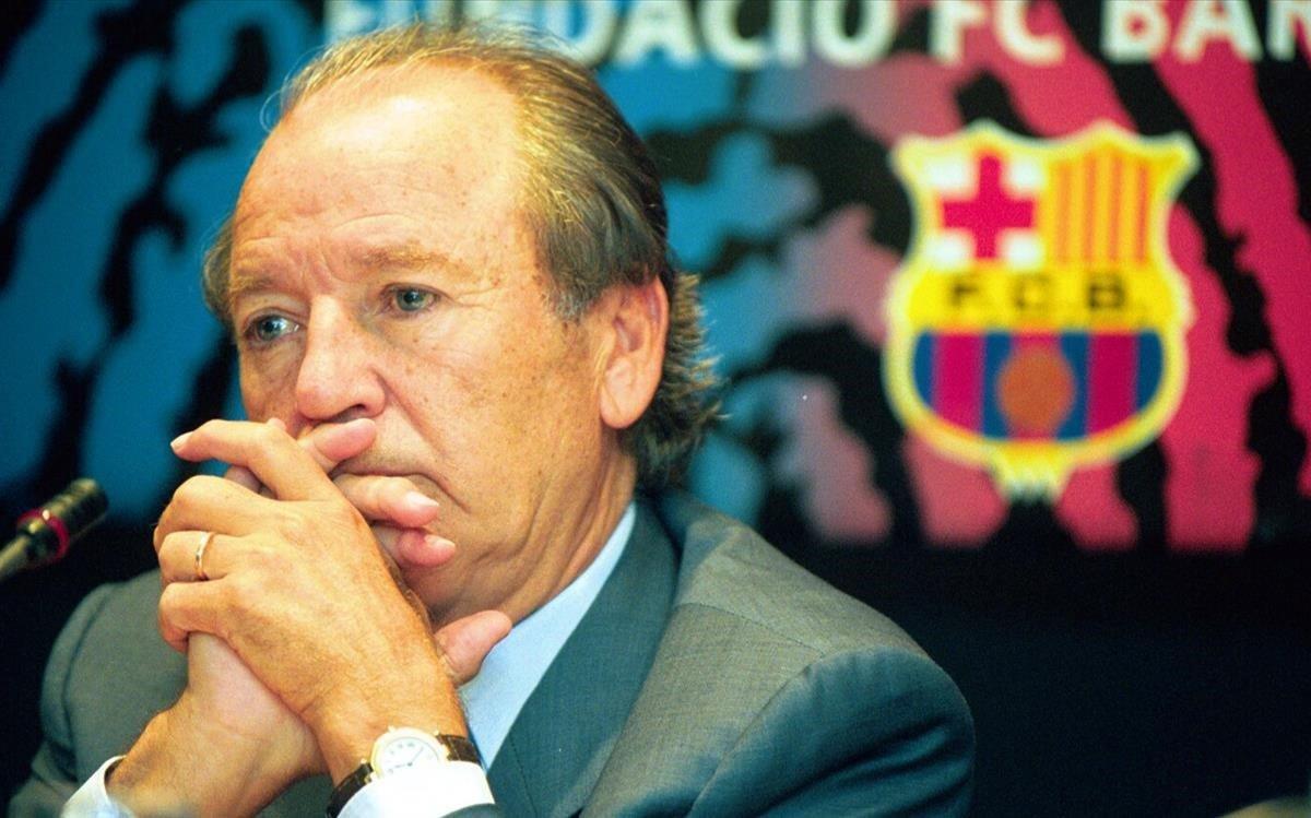 Josep Lluís Núñez, en el 2000.