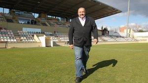 Joan Oliver, máximo accionista del Reus Deportiu.