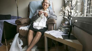"""Esther Vilar: """"Amb les estovalles vaig enviar una carta al papa Francesc"""""""