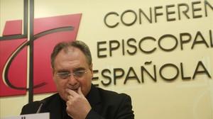 José María Gil Tamayo, secretario general y portavoz de la Conferencia Episcopal Española.