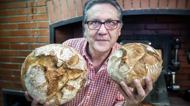 Eduard Verdaguer: «Envuelto con celofán, el pan es un buen regalo»