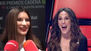 """La divertida reacción de Laura Pausini a la relación de Malú y Albert Rivera, al que no conoce: """"¡Quiere follar!"""""""
