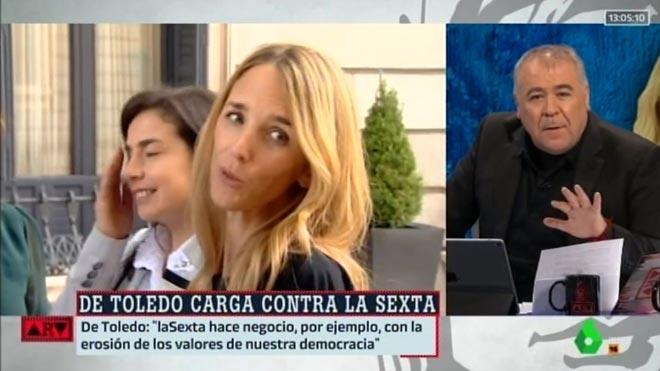 Ferreras, contestando a Cayetana (La Sexta).