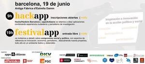 Primer festivalapp en Barcelona organizado por apps4citizens con la colaboración de EL PERIÓDICO.