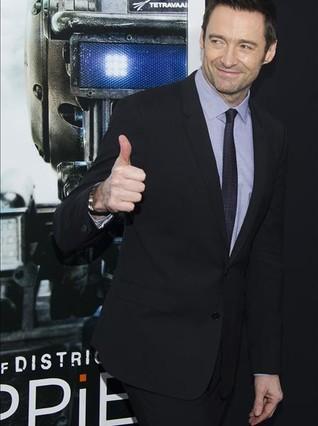 Hugh Jackman, en la presentación de Chappie.