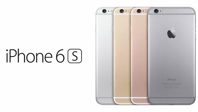 Imagen de los nuevos iPhone 6S difundida por el portal Applesfera.com, incluyendo el color rosa oro.
