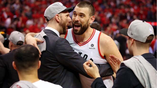 Los Toronto Raptors ganan el pase a la final de la NBA. En la foto, Marc Gasol.