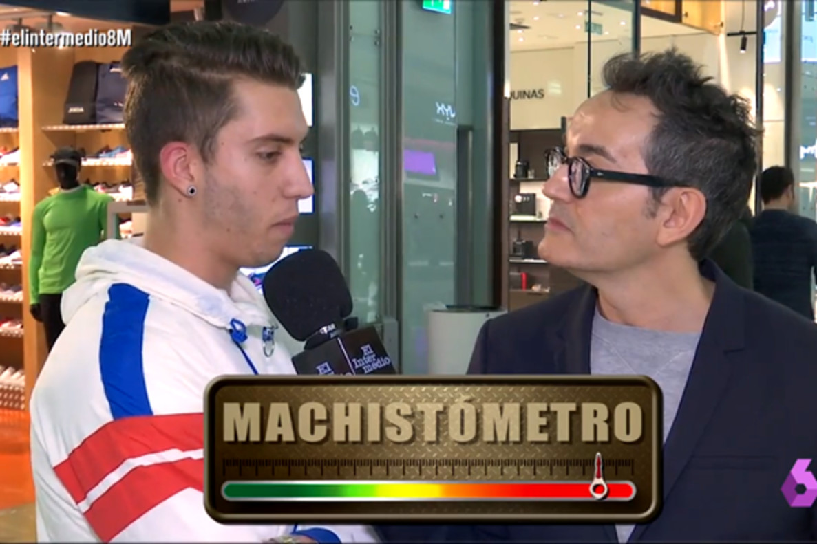 """'El Intermedio' mide el machismo con """"El machistómetro"""": """"Las mujeres tienen peligro al volante"""""""