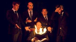 Los integrantes de Magic Gospel. Los podrás ver en el escenario del CaixaForum.