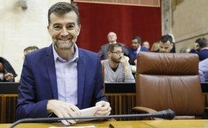 El coordinador general de IU Andalucía y diputado en el Parlamento andaluz, Antonio Maíllo.