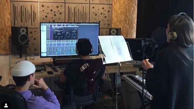 Malú comienza a grabar su nuevo disco.