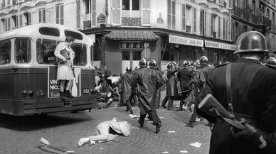 Una colección de fotografías históricas recuerda la revolución de Mayo del 68