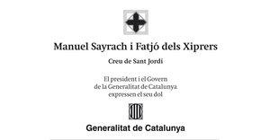Manuel Sayrach i Fatjó dels Xiprers