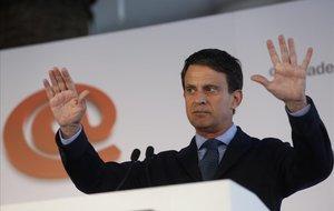 Manuel Valls, en el foro de debate Primera Plana.