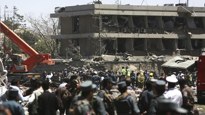 Al menos 80 personas muertas y 350 heridos en un atentado con coche bomba en el barrio diplomático de Kabul