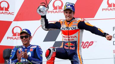 Márquez gana con autoridad el GP de Alemania y sigue rompiendo récords