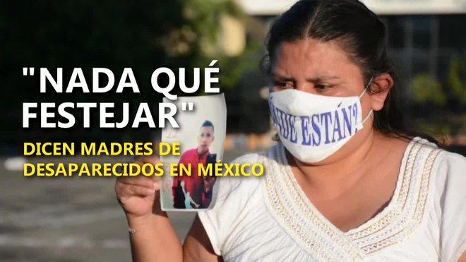 Decenas de madres de personas desaparecidas en México se manifestaron este sábado en la ciudad de Guadalajara a pesar de la pandemia de COVID-19 para exigir la búsqueda de sus hijos en la víspera del Día de las Madres, que se festejará este domingo en el país.