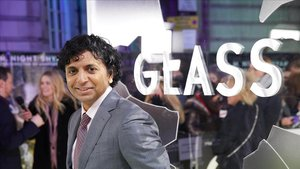 M. Night Shyamalan, en la premier de Glass, en Londres.